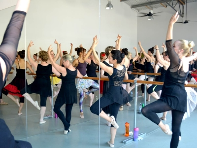 Christmas 2016 warm up barre