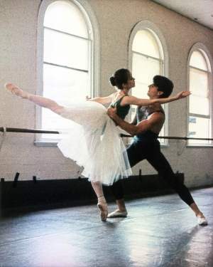 Rosetta Cook: Giselle (rehearsal) - with Dale Pengelly, QLD Ballet