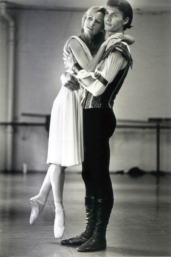 Michelle White: Romeo and Juliet, in rehearsal with Martin Michel, 1989