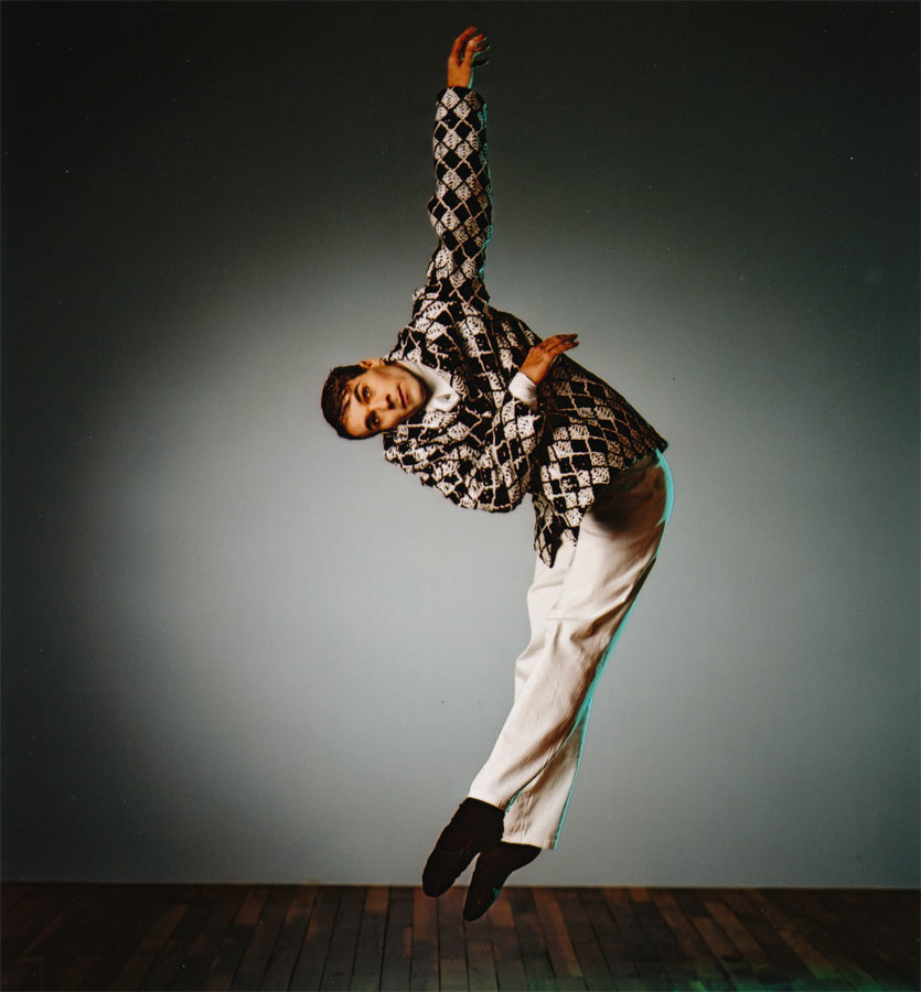 Graham Fletcher Principal Male Ihi Frenzy, Mark Baldwin, 2002 Royal NZ Ballet