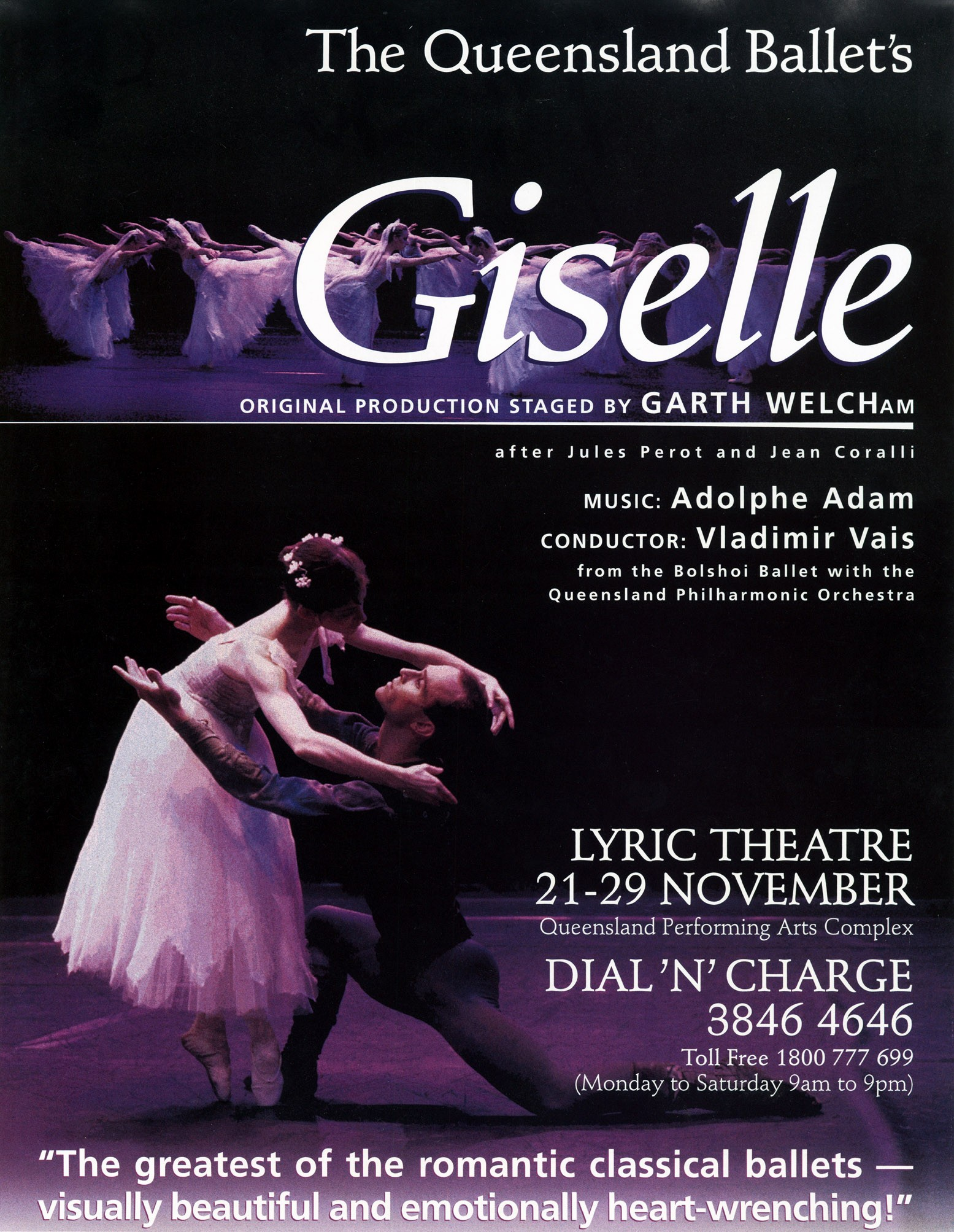 Dale Johnston - Giselle Poster